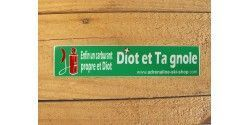 DIOT ET TA GNOLE, LE CARBURANT ECOLO