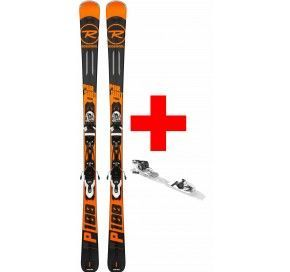 ROSSIGNOL PURSUIT 100 (XPRESS)  + XPRESS 10 B83 BLACK/WHITE