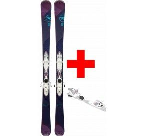 ROSSIGNOL TEMPTATION 84 HD (XPRESS) + XPRESS W 11 B93 WHITE/SPARKLE