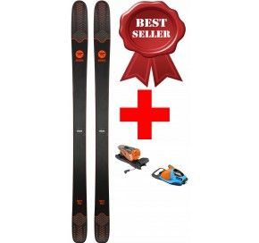 ROSSIGNOL SKY 7 HD  + NX 12 B100 BLUE/ORANGE