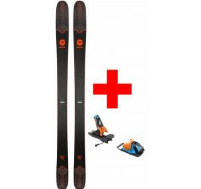 ROSSIGNOL SKY 7 HD  + SPX 12 DUAL WTR B100 BL/ORANGE