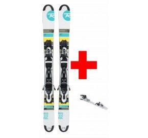 ROSSIGNOL Mini ski FREE'ZB (XPRESS)+ XPRESS 10 B83 BLACK/WHITE
