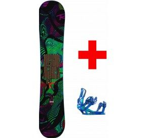 Rossignol DISTRICT  + BATTLE COLOR M/L