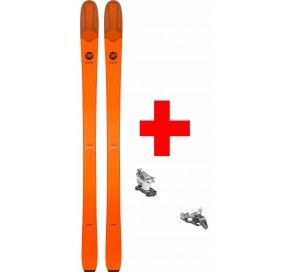 ROSSIGNOL SEEK 7 TOUR + LOOK ST 10