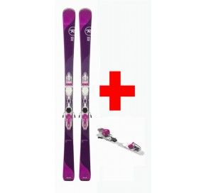 ROSSIGNOL TEMPTATION 75 (XPRESS) + XPRESS W 10 B83 WHITE/PURPLE